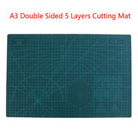 A3 Double Sided Cutting Mat Self-Healing Cut Pad Patchwork Tool Quilting RulerNT