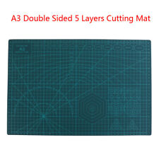 A3 Double Sided Cutting Mat Self-Healing Cut Pad Patchwork Tool Quilting Rul_ti