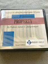Property - Julian C. Juergensmeyer - Sum and Substance - 2nd ed. used?
