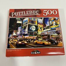 New Puzzlebug 500 Piece Jigsaw Puzzle ~ Times Square at Night, New York