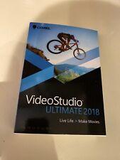 Corel VideoStudio Ultimate 2018 - Brand New Retail Box and Download