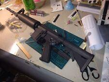 1:1 m4a1 Gun Assault Rifle sniper rifle paper Model Do It Yourself