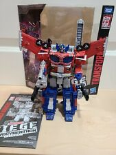 Transformers Siege GALAXY UPGRADE OPTIMUS PRIME War for Cybertron Complete
