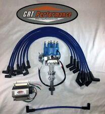 BBF FORD HEI Eletronic Distributor Ready To Run FORD 351C 351M 400 429 460 BLUE