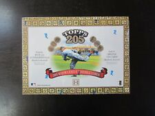 2003 Topps 205 Baseball Factory sealed hobby Box (C)