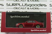 Ignition Model Japan Exclusive Red Metallic NISSAN Nismo R34 GT-R Z-tune IG1871