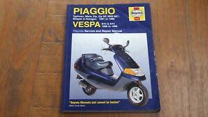 PIAGGIO/VESPA TYPHOON, SFERA, ZIP, SKIPPER, HEXAGON, ET2 & ET4 HAYNES MANUAL-199
