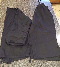 Taekwondo Karate Black Uniform Century Martial Arts Boys Girls Size 1