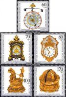 BRD (BR.Deutschland) 1631-1635 (kompl.Ausgabe) postfrisch 1992 Kostbare Uhren