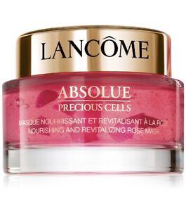 Lancome Absolue Precious Cells Nourishing And Revitalizing Rose Mask 2.6oz NIB
