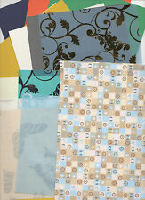 30 X A4 SHEETS ASSORTMENT BACKING PAPER/CARD, PATTERNED, EMBOSSED FREE 1ST P/P