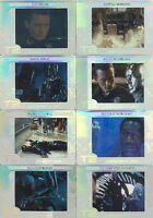 Terminator 2 CYBER ETCH CARDS SET OF  24 BY ARTBOX