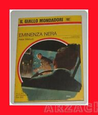 Gialli Mondadori 1102 EMINENZA NERA Malloch 1970