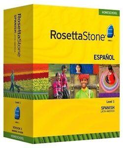 Rosetta Stone Homeschool Spanish(Latin America) Level 1 - Full Version for Wind…