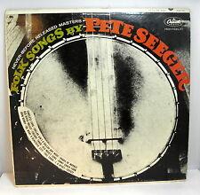 FOLK SONGS by PETE SEEGER - Capitol W-2172 LP (1964)