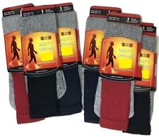 Mens Thermal Socks 12 Pairs Winter Long Hiking Thick Outdoor Work Boot UK 7-12