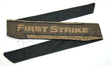 First Strike Paintball Headband Fs Shield Brown Head Band Tiberius Arms New