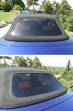Peugeot 306 cabriolet cabrio Roof Rear Windscreen Window Black smoke tinted