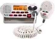 COBRA MARINE RADIO-FIX VHF CLASS-D DSC WHITE  All NOAA weather channels, 25 Wat