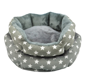 Star Pattern Soft Washable Luxury Dog Puppy Cat Pet Bed Cushion Fleece Blanket