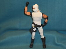 "ACTION FIGURE 12"" HASBRO gi joe COBRA 1996 MILITARY TOY WHITE OUTFIT"