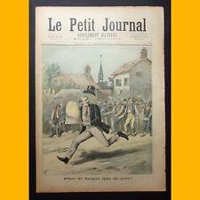 LE PETIT JOURNAL Suppl. illustré PLUS DE BEURRE QUE DE PAIN ! 9 sept. 1893