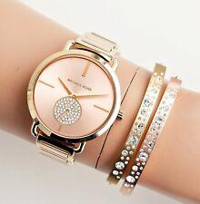 Original Michael Kors Uhr Damenuhr MK3706 Portia BiColor Rose Gold/Gold  NEU!