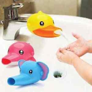 Cartoon Faucet Extender Handwashing Tool For Kids Children Bathroom Accessories