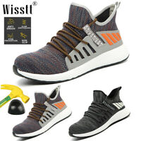 Men's Work Safety Shoes Indestructible Military Steel Toe Midsole Boots Sneakers