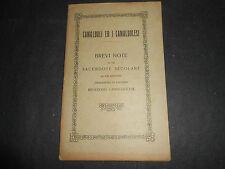 1926 CAMALDOLI ED I CAMALDOLESI S.ROMUALDO ABATE ROMA SCUOLA TIPOGRAFICA PIO X