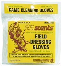 New Hunters Specialties Field Dressing and Gutting Gloves 2 Pairs 01071