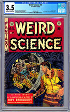 WEIRD SCIENCE #19 CGC 3.5 *USED IN SOTI CENSURE CONTROVERSY* RAY BRADBURY 1953
