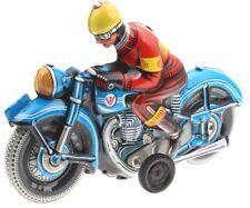 Wilesco 10589 Blechspielzeug Motorrad blau