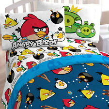 ROVIO ANGRY BIRDS KIDS BEDDING TWIN COMFORTER N TOTE BAG SET NEW