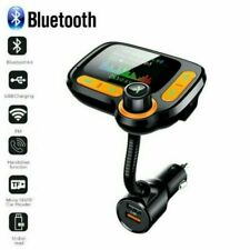 Bluetooth 5.0 FM Transmitter Auto MP3 Player USB KFZ SD AUX Freisprechanlage DHL
