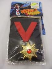 Halloween Jewellery Military Dracula Medallion Vampire Witch
