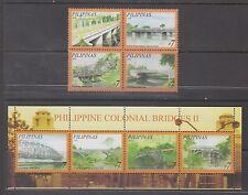 Philippine Stamps 2008 Colonial Bridges  Complete set, MNH