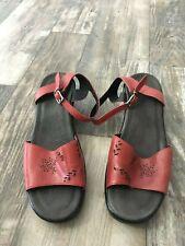 Dansko Red Leather Sandal - 38
