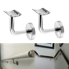 Handrail Bannister Support Stair Rail Bracket Balustrade Fixing Wall Mounted
