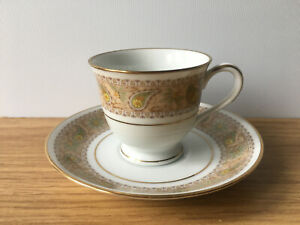 Vintage 1970s Noritake Autumn Time 2258 Coffee Cup & Saucer - 11 Available