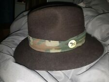 Biltmore SAFARI Made in Canada Brown   Hat Men's Size 6 7/8  55 cm