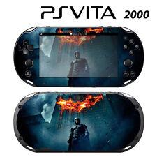 Vinyl Decal Skin Sticker for Sony PS Vita Slim 2000 Batman Dark Knight Rises 2
