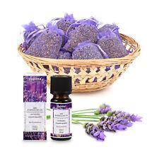 pajoma Lavendelset, 10x Lavendelsäckchen Lavendel plus 1x ätherisches Duftöl