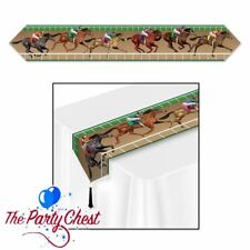 6FT HORSE RACING TABLE RUNNER CENTERPIECE Race Night Party Decoration 59952