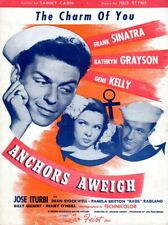 "The Charm Of You, 1944, fr movie ""Anchors Aweigh"", Frank Sinatra on cover"