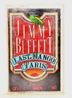 Jimmy Buffet -1985  Last Mango In Paris Cassette Tape MCA Records