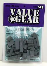 1/56 - 28mm Universal Wooden Crates Set #C1 - ValueGear- Bolt  Action War Game