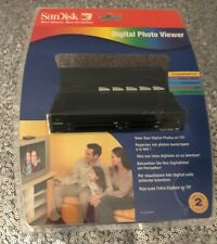 SANDISK DIGITAL PHOTO VIEWER SDV1-A NEW SEALED DIGITAL FLASH SD PHOTOS TO TV