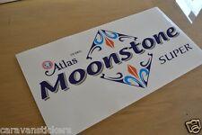 ATLAS Moonstone Super 1 Front Static Caravan Sticker Decal Graphic - SINGLE
