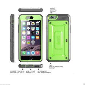 Supcase UNICORN BEETLE IPhone 6plus Staubdicht  Dual-Schicht Sturzschutz  GRÜN